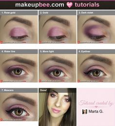 Step-By-Step #Tutorial for Classy Christmas Eve Look on @Makeupbee