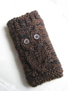 iPod / iPhone / HTC Droid Incredible case hand knit by Polar1Butterfly, $11.00