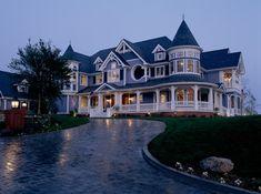 Queen Anne Revival mansion, Los Angeles area, California