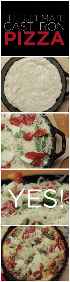 Yasss... BRB, going home to make this ultimate cast iron pizza right quick.