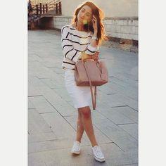 All White, Ootd, Instagram Posts, Sweaters, Dresses, Fashion, Vestidos, Moda, Fashion Styles