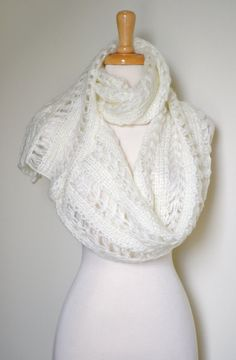 No One is Perfect  Chunky Knitted Asymmetrical by AnytimeScarf, $20.00