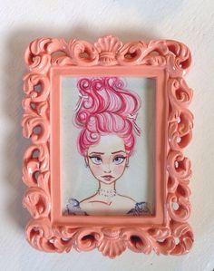 Elsa Antoinette Fine Art Quality Print with by 18thCenturyShop