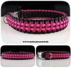 """Paracord Halsband """"Two Lines"""". www.mein-paracord.de"""