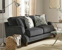 Franklin Furniture   Addison Loveseat   86320 ASH