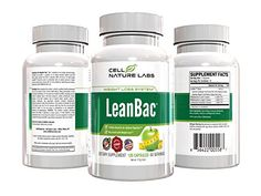 Top Selling Weight Loss Supplement LeanBAC Made In The USA In A cGMP Facility 120 Capsules * Details can be found by clicking on the image.