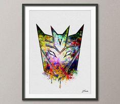 Transformers Poster Transformers art Transformers by ZenioArt