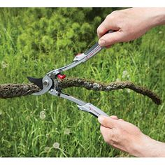 Bypass Pruner/Mini Loppers -$17.95- Prune flowers and cut tree branches with same tool The Bypass Pruner/ Mini Loppers make it easy to complete a variety of tasks in the garden without changing tools. Pruner does a great job of cutting off dead blooms and trimming flowers, but when the tasks grow, so does this tool!