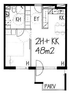 Korvatunturinpolku, Mellunmäki, Helsinki, 2h+kk 48 m², SATO vuokra-asunto