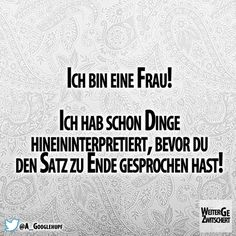 cool ... witzig ... knuddelig ... praktisch ... oder einfach nur inspirierend… Great Quotes, Funny Quotes, Love Sarcasm, Laughing Quotes, Big Words, Say More, Word Pictures, Meaning Of Life, Statements