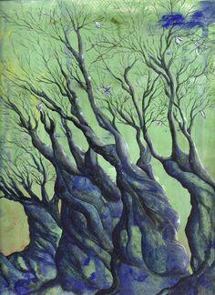 old trees.luisa capparotto