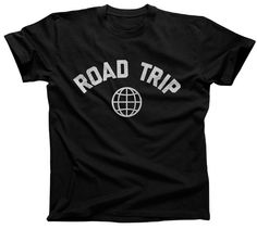Road Trip T-Shirt Retro Athletic Travel Mens and by boredwalk