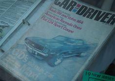 Magazine Car & Driver Cover Featuring BLUE MAX Camaro project car. Pic by: Joe Danon