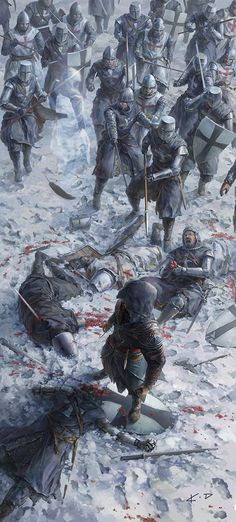 Яркие иллюстрации современного китайского художника KD Stanton