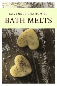 Enjoy a nice, relaxing bath with these Lavender Bath Melts - easy to put together and moisturizing for skin! #essentialoils #bath #DIY #beauty
