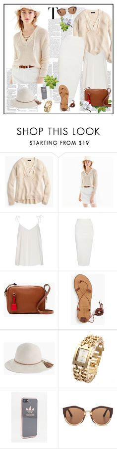 """Summer 2017♥♥♥"" by marthalux ❤ liked on Polyvore featuring J.Crew, Rick Owens, adidas, Marni, Victoria Beckham, StreetStyle, summertime and summeroutfit"