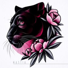 As aesthetically pleasing as tattoos are, they can be costly and require a lot of time, effort, and patience. Future Tattoos, New Tattoos, Body Art Tattoos, Tattoo Sketches, Tattoo Drawings, Black Panther Tattoo, Panther Tattoos, Black Panther Drawing, Hase Tattoos
