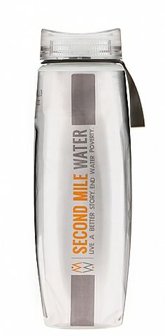 Benefit Polar Bottle Carries more water than a conventional water bottle design, makes drinking easier, and donates $5 with every purchase to make drinking water accessible for impoverished communities. $20