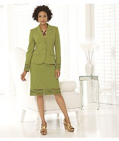 Suit, Dreamweaver from Monroe and Main.   Suit, Dreamweaver from Monroe and Main. Confident style has slimming princess seams and just-right stretch.  www.monroeandmain.com