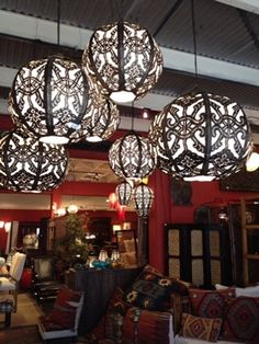 Balinese lamps - v pretty