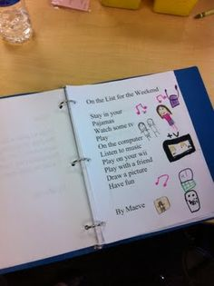 kids wrote and illustrated their own poems for each other's poetry binders this year For LATER Myrick ; Poetry Lesson Plans, Poetry Lessons, Poetry Unit, Teaching Poetry, Teacher Helper, Writing Workshop, Kids Writing, Grade 3, Teaching Tools