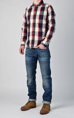 e626e5a83c0c Die 60 besten Bilder von Checked Shirts   Checked shirts, Raw denim ...