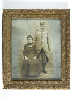 Contribution de Ginette Patard, AD76 - Portrait de Désiré Lebourg et son épouse. 1num0093