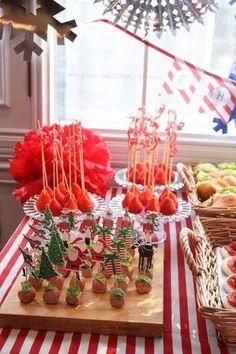 Kids party dishy ideas 子どものお友達を呼ぼう!子どものクリスマスパーティーのお料理&飾り付けのヒント集