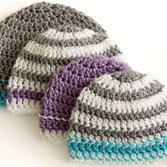 Caps for a Cause Crochet Hat Pattern | Easy Crochet