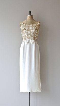 Amoretta maxi dress vintage 1960s wedding dress by DearGolden