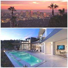 Luxury Doheny Residence, Hollywood Hills via @rodeoand5th