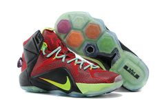 promo code d17dc 0df1f Lebron 12 P.S Elite Red Green Black, cheap Lebron 12 Mens, If you want to  look Lebron 12 P.S Elite Red Green Black, you can view the Lebron 12 Mens  ...