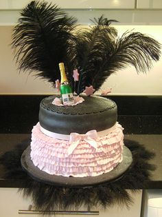 "Who wants to make this ""Burlesque"" looking cake for my birthday?:)"