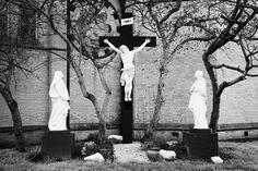 ca42cad709 Crucifixion Scene At Saint Pauls Roman Catholic Church Falls Road West Belfast  Northern Ireland Uk by Joe Fox