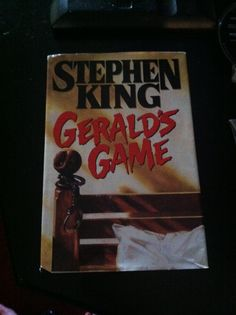 Stephen King **what if you are at a secluded cabin and playing some sexual bondage games and one of you dies and the other is still in handcuffs?  That is where the book takes you.
