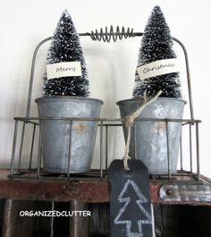 Organized Clutter: Christmas Mantel 2012