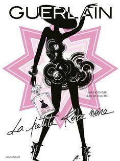 Publicité du parfum La Petite Robe Noire de #Guerlain