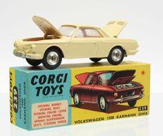 VW Karmann Ghia Corgi Toys 239