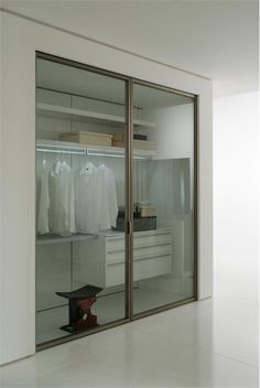 clear glass doors on closet - Google Search