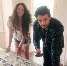 Lana Del Rey with James Franco
