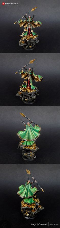 Master Painted Krueger The Stormwrath | eBay