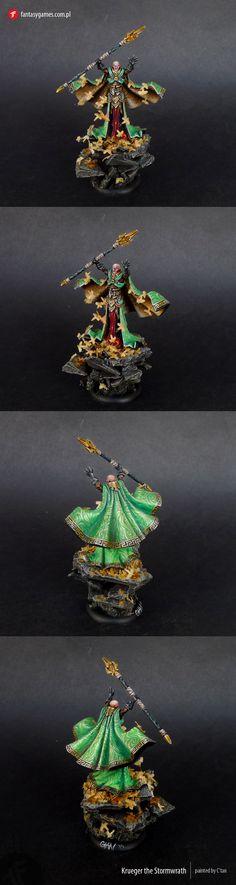 Master Painted Krueger The Stormwrath | eBay