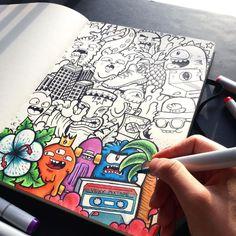 Épinglé par axelle lespes sur doodle рисунки, графика et идеи для рисунков. Doodle Art Posters, Doodle Art Journals, Graffiti Doodles, Graffiti Art, Wolves Of Wall Street, Vexx Art, Flowers Illustration, Posca Art, Cute Doodles
