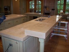 concrete countertops | Kitchen or Outdoor Concrete Countertops « NW CONCRETEWORKS, INC.