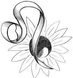 Leo Symbol Tattoo | Zodiac Tattoo Symbols: Leo Tattoos
