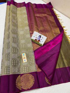 Indian Silk Sarees, Beautiful Saree, English Grammar, Gold Jewellery, Color Inspiration, Indian Fashion, Bridal, Collection, Design