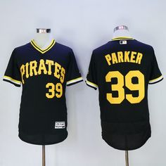 f5ce43458 Pirates  39 Dave Parker Black Flexbase Authentic Collection Cooperstown  Stitched MLB Jersey