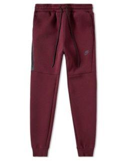 9e01ad86295f Men s Nike Tech Fleece Joggers NIGHT MAROON  amp  BLACK 806696-681 Size XL