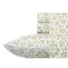 Laura Ashley Jayden Sage Flannel Sheet Set - Stylish and elegant, the Laura Ashley Jayden Sage Flannel Sheet Set warms up your sleeping arrangements. Its charming pattern in sage complements ...
