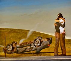 Between Fantasy And Realism: Artist Bo Bartlett Unmoors His Visions From The Everyday American Realism, American Artists, Love Painting, Figure Painting, Realism Artists, Bo Bartlett, Magic Realism, Art Moderne, Art Plastique